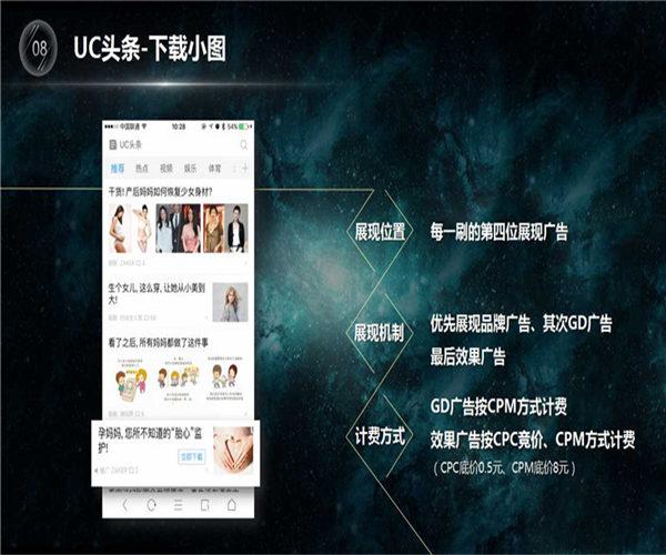 uc头条代理:什么是UC头条广告?